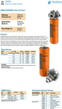 Lọc dầu thủy lực HMK03