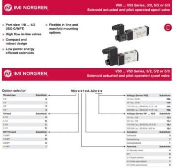 Van điện từ Norgren V51B517A-A2000